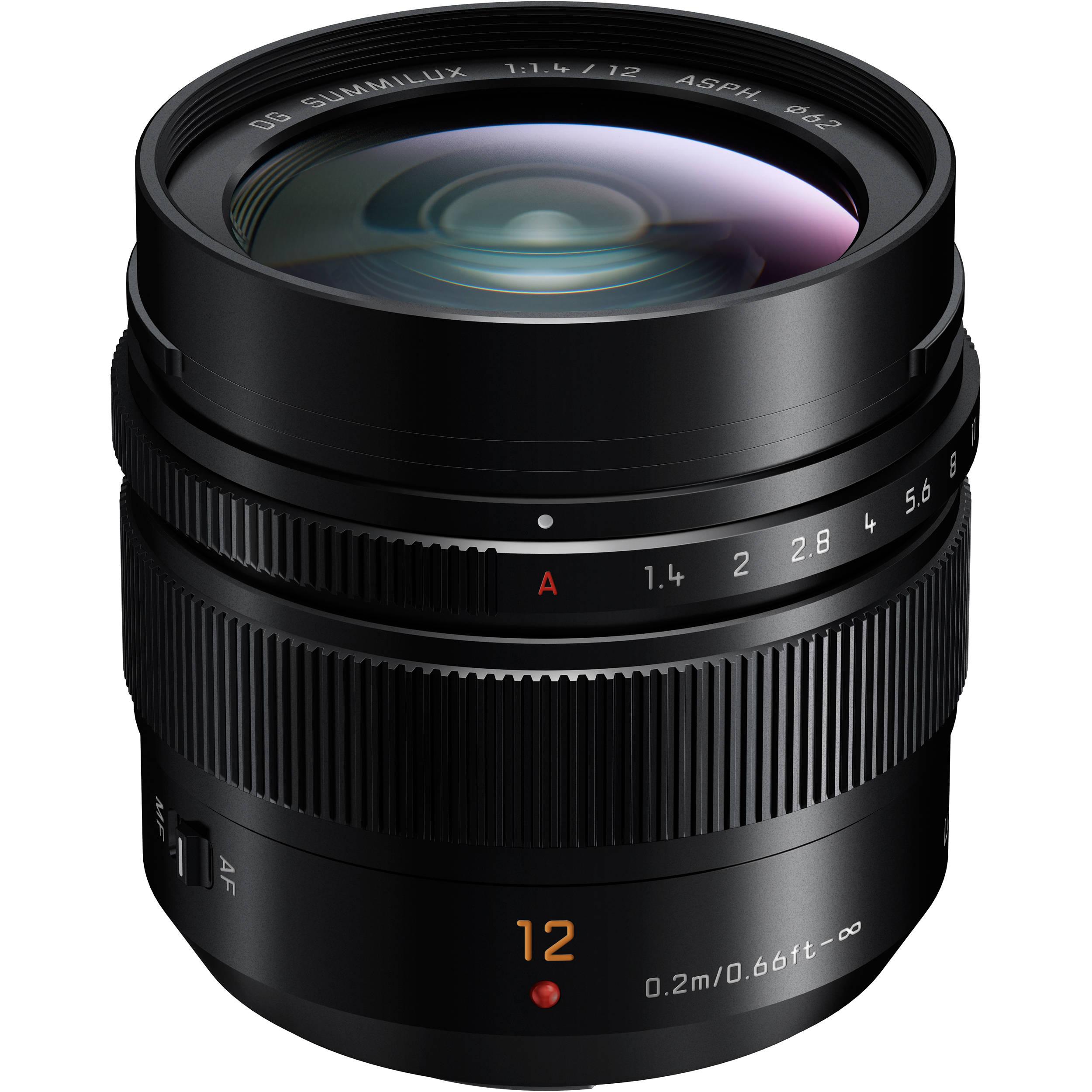 Panasonic Leica 12mm f/1,4 ASPH
