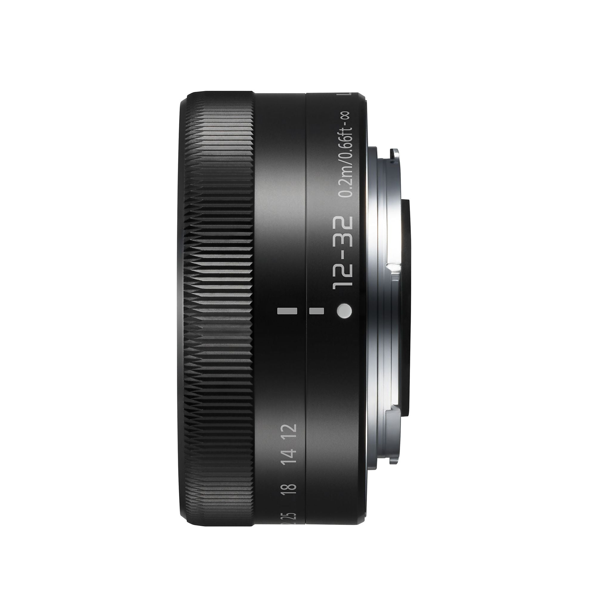 Panasonic Lumix G 12-32mm f/3,5-5,6 ASPH MEGA OIS Svart - BULK
