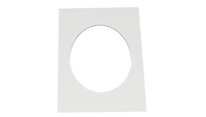 Passepartout Oval Offwhite