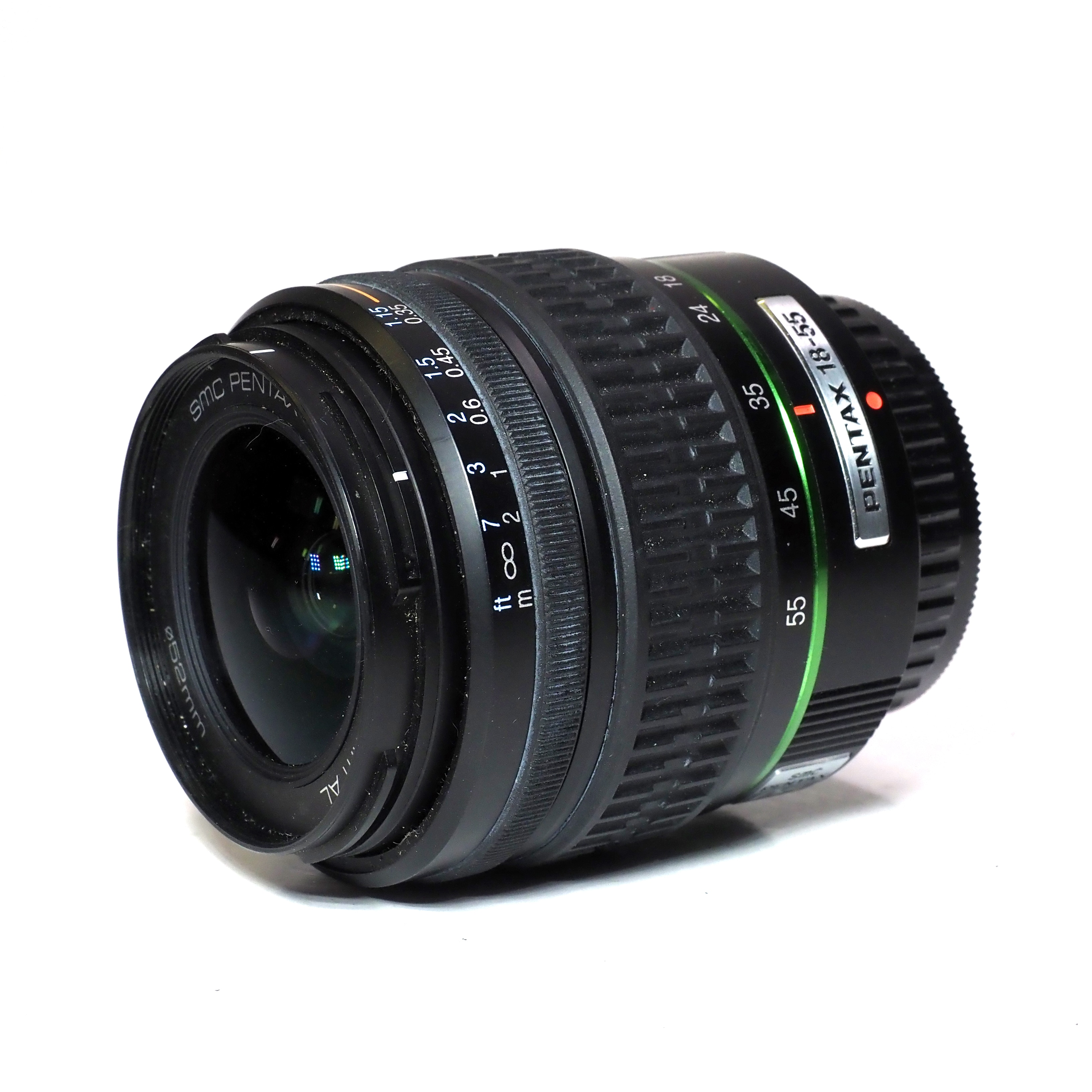 Pentax SMC-Pentax-DA 18-55mm f/3,5-5,6 För Pentax K - BEGAGNAT