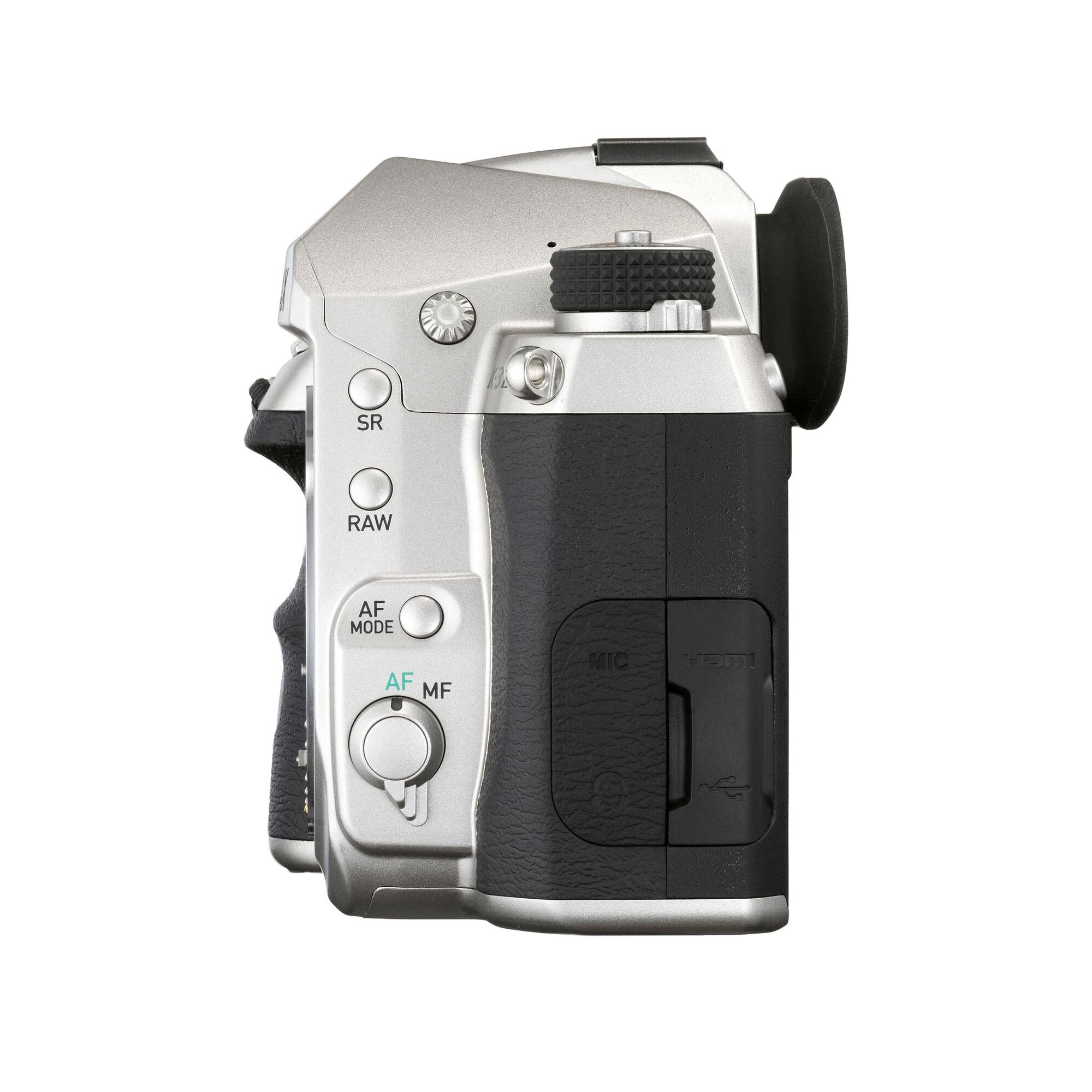 Pentax K-3 Mark III Silver