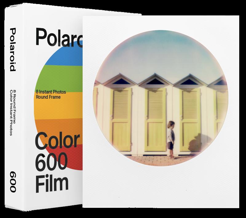 Polaroid Color Film 600 Round Frame