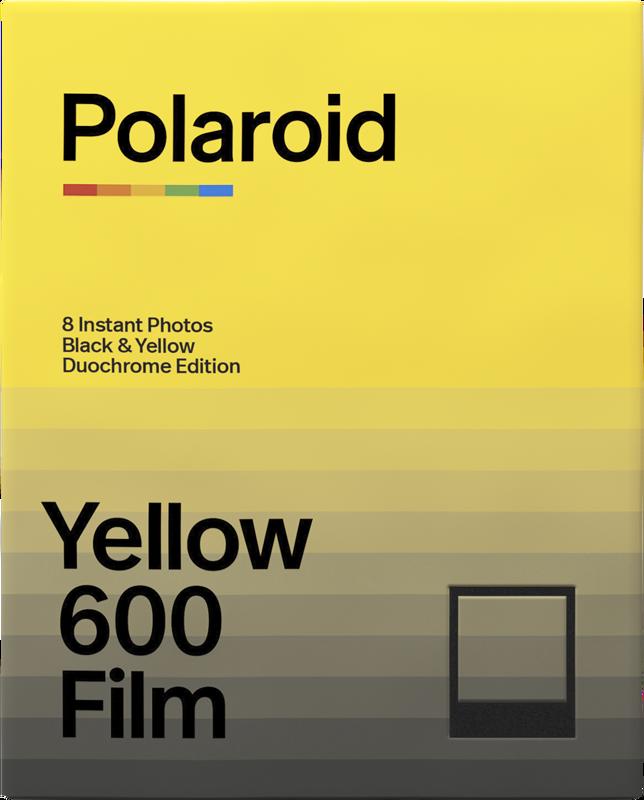Polaroid DuoChrome Black&Yellow Edition 600 Film