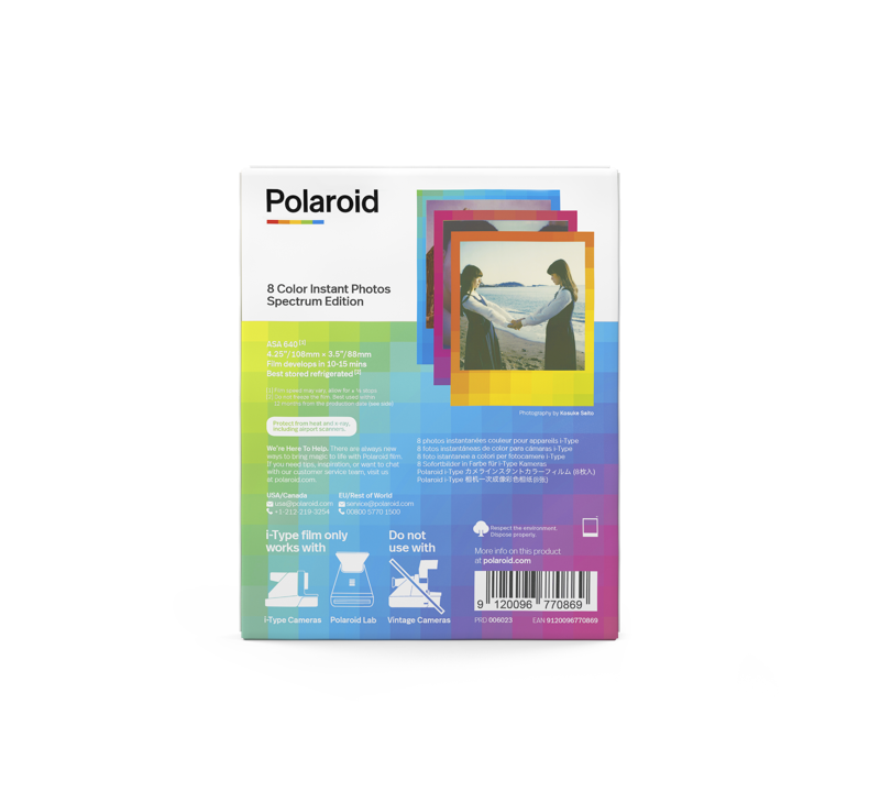 Polaroid I-Type Färg Spectrum Edition