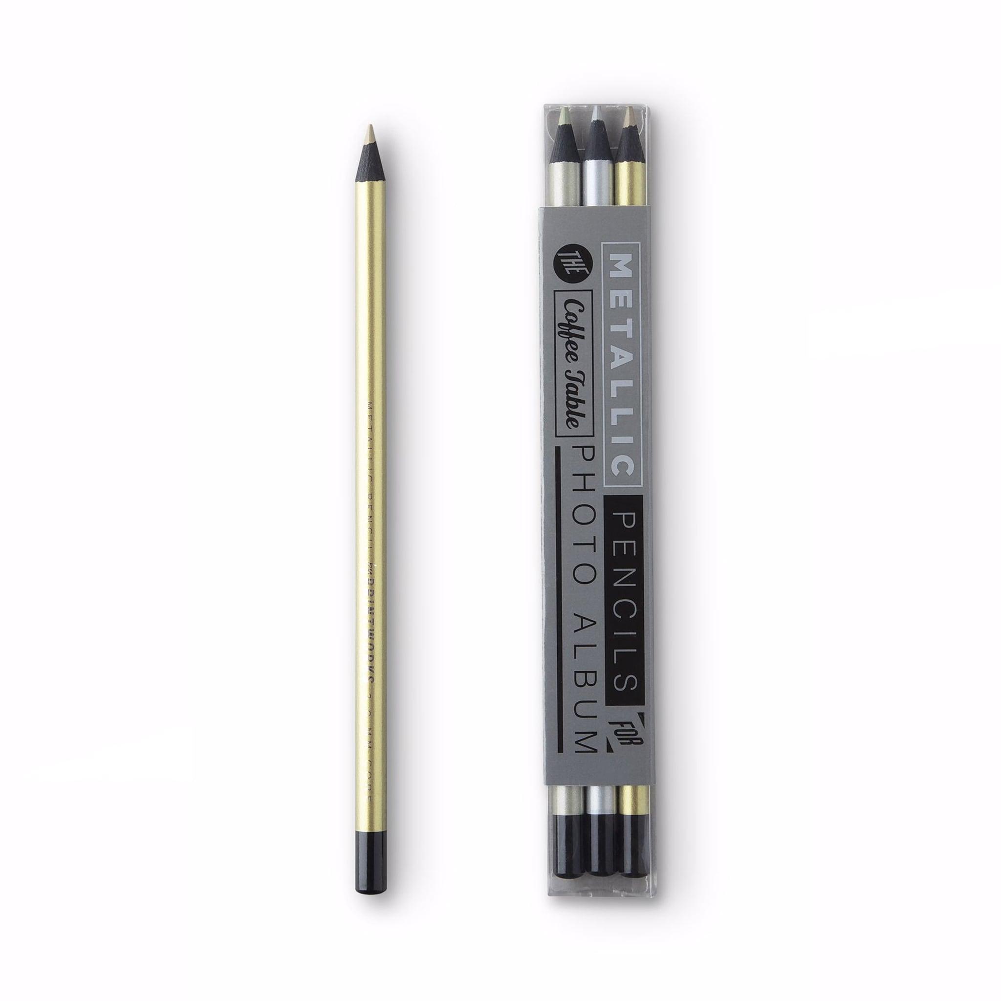 Färgpennor Metallic 3-Pack
