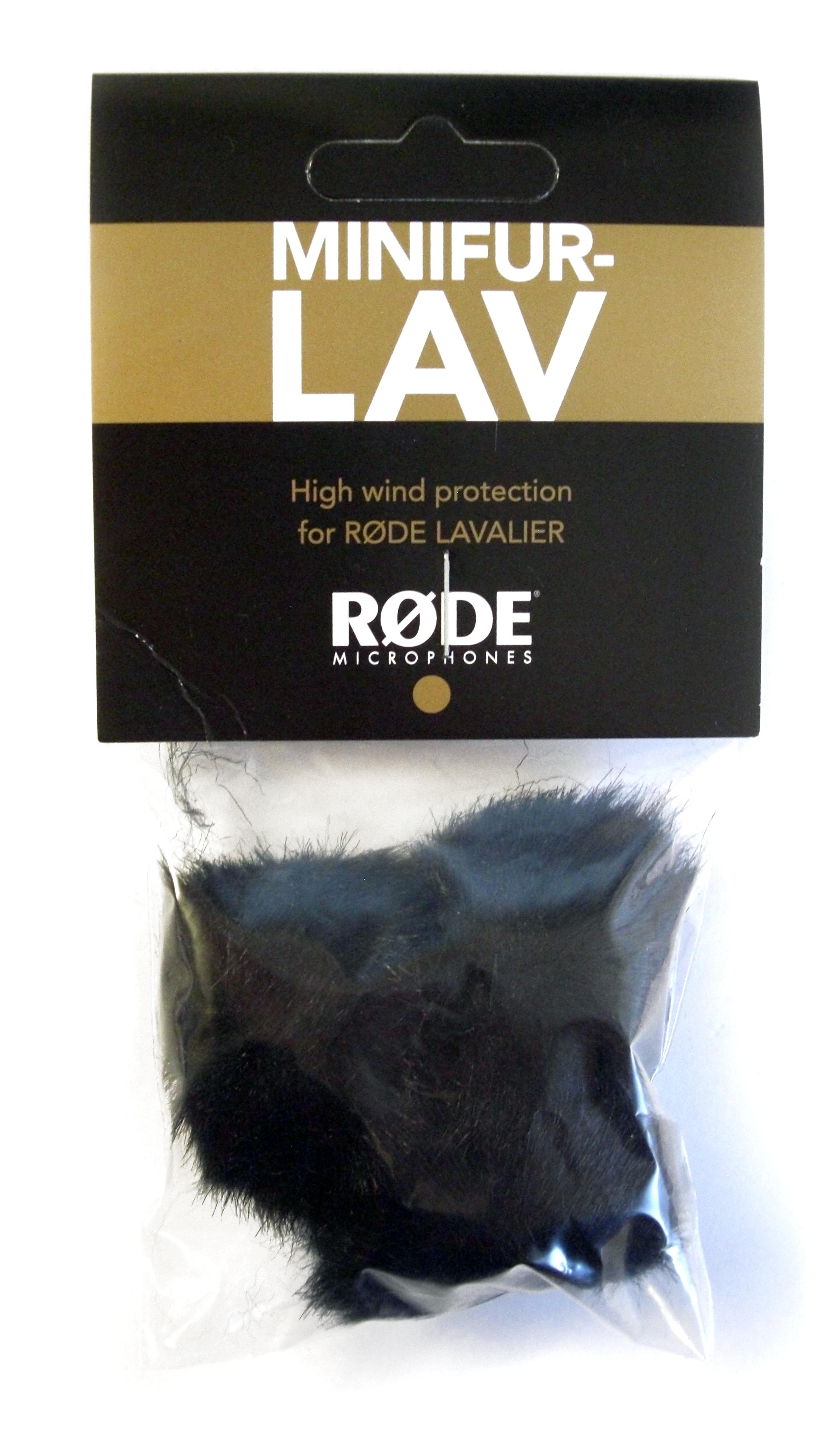 Röde MINIFUR-LAV vindpäls/3pack
