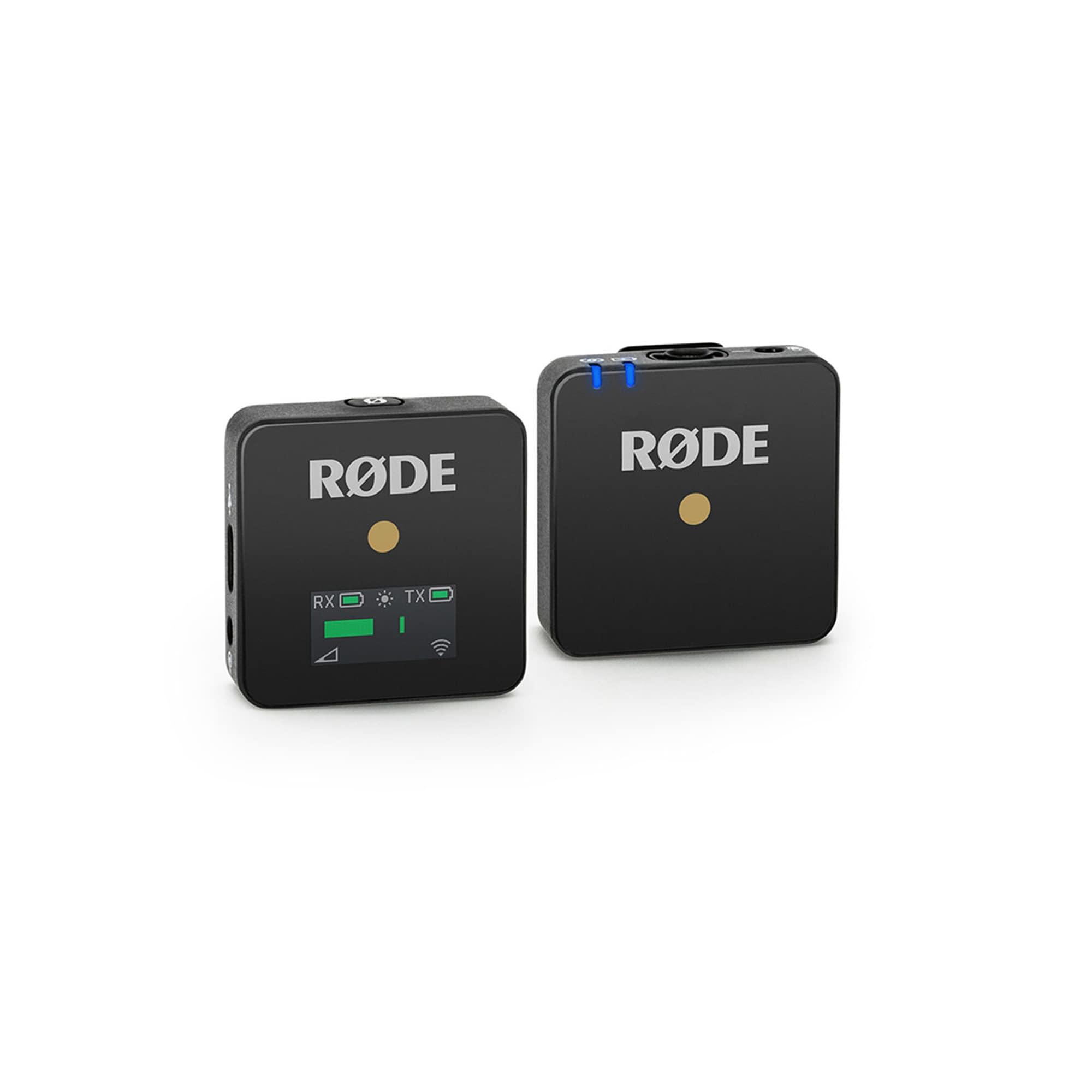 Röde Wireless GO BLACK trådlös med inb.mik.