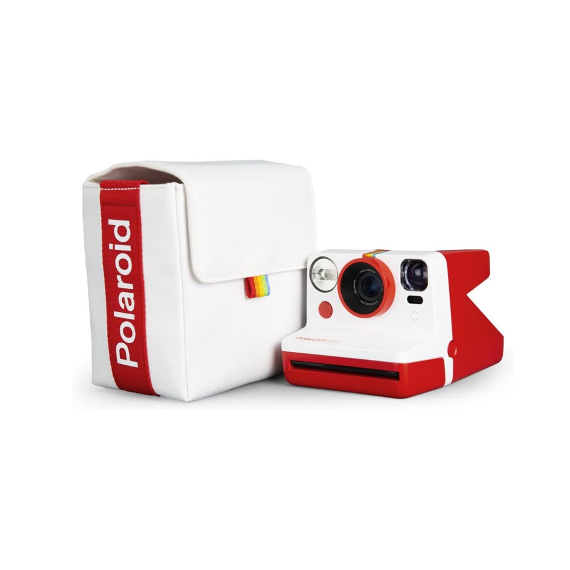 Polaroid Väska Till Now Vit & Röd