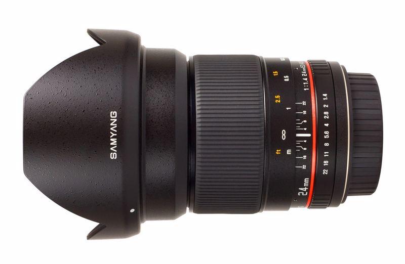 Samyang Objektiv 24mm F1,4 Nikon AE