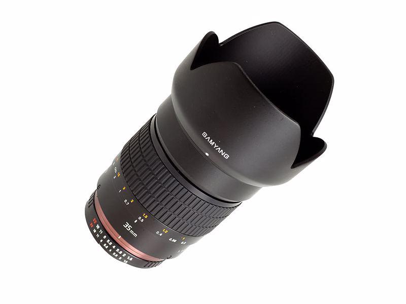Samyang 35mm F/1,4 AS UMC Fuji X