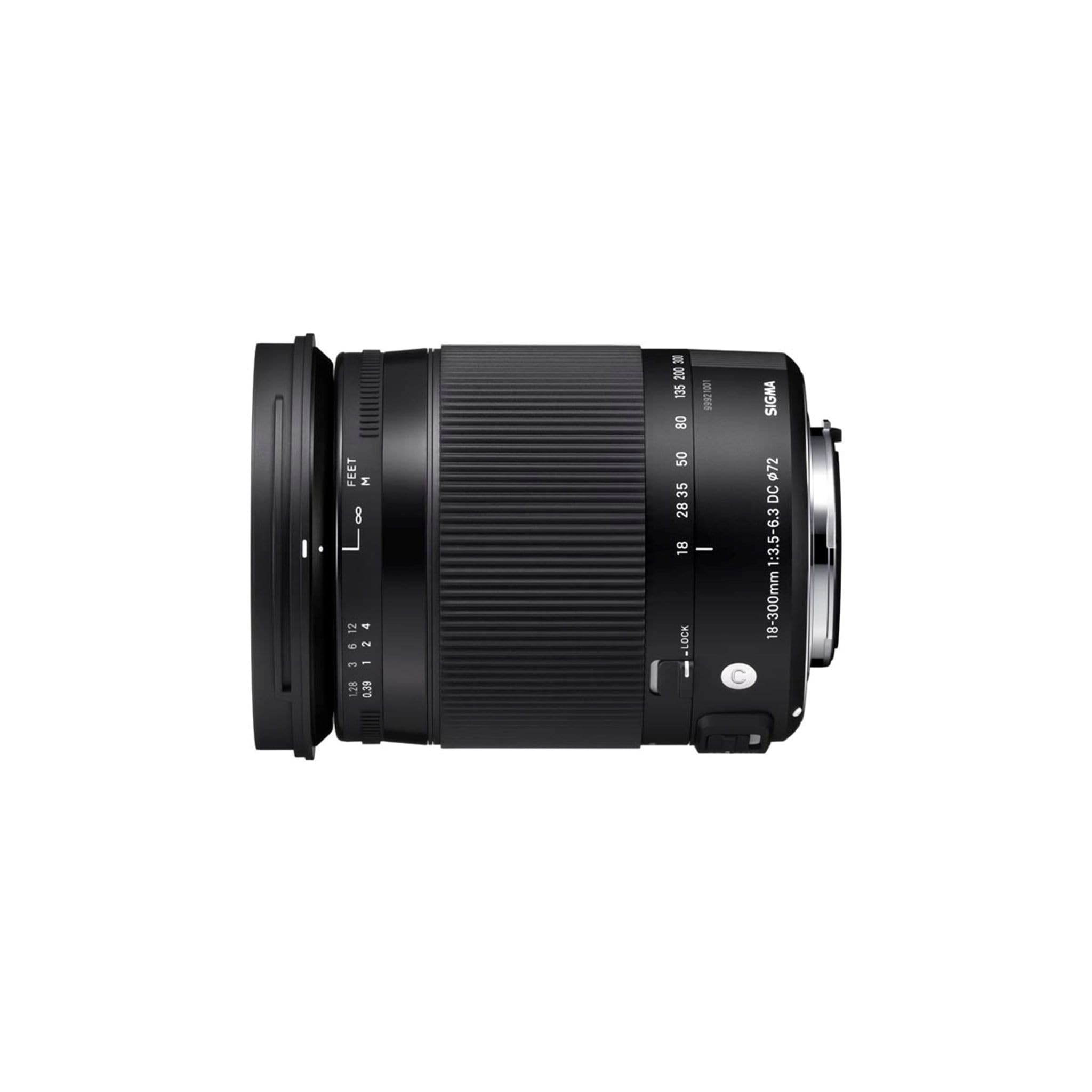 Sigma 18-300 3,5-6,3 DcMacro OS HSM Nikon - BULK