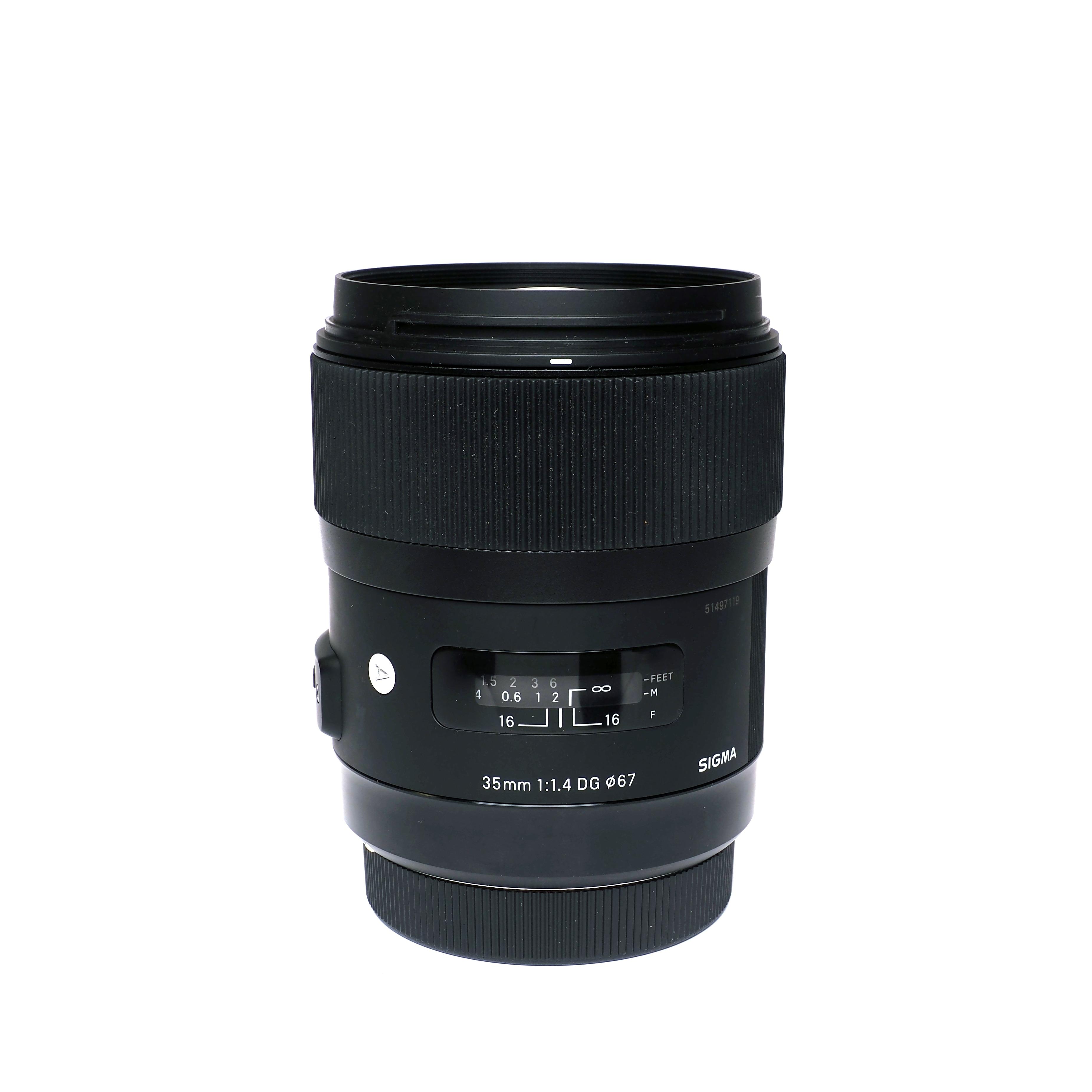 Sigma Art 35mm f/1.4 för Canon - BEGAGNAT