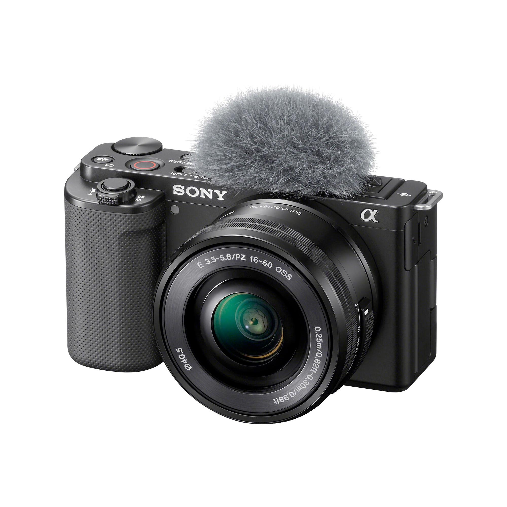 Sony ZV-E10 Svart + 16-50mm f/3,5-5,6 OSS