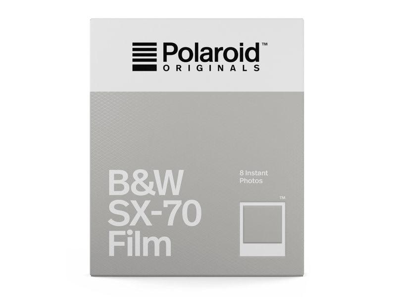 SX70 Film Svartvit