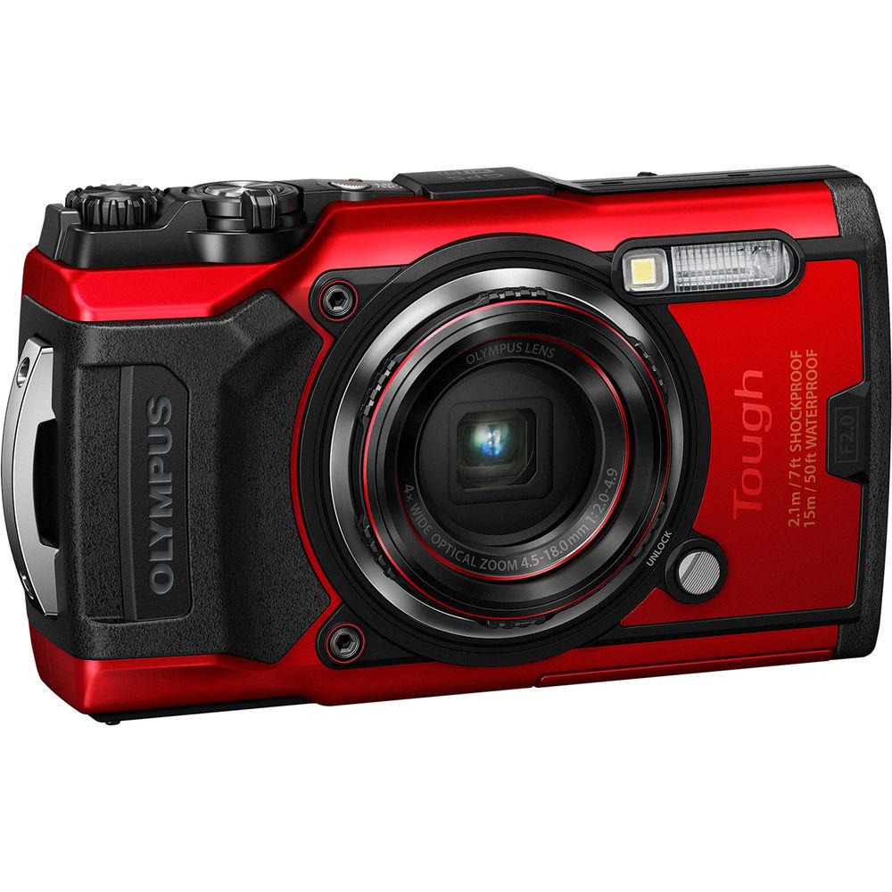 Olympus TG-6 Röd