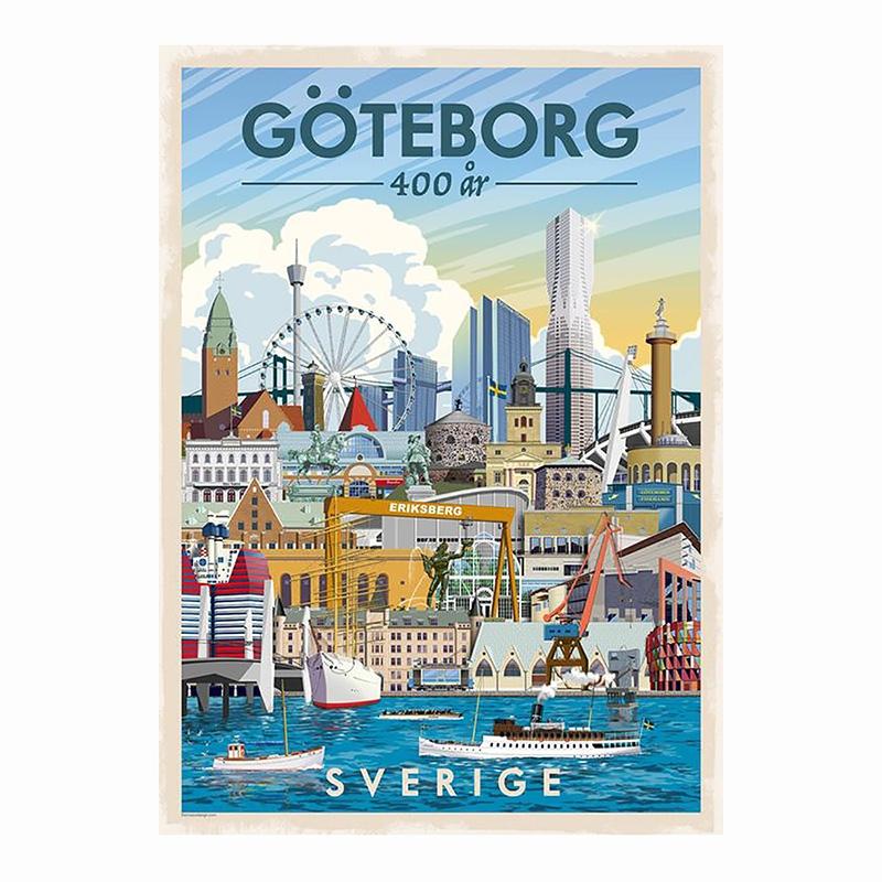 ThomasO Poster Göteborg 400 år