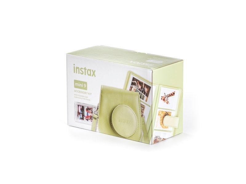 Fujifilm Instax Mini 9 Tillbehörskit Lime Green