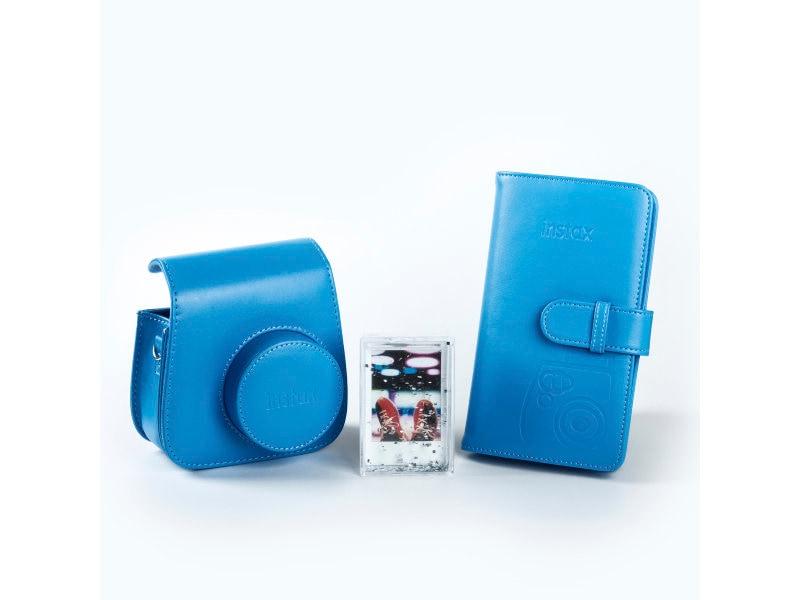 Fujifilm Instax Mini 9 Tillbehörskit Cobolt Blue