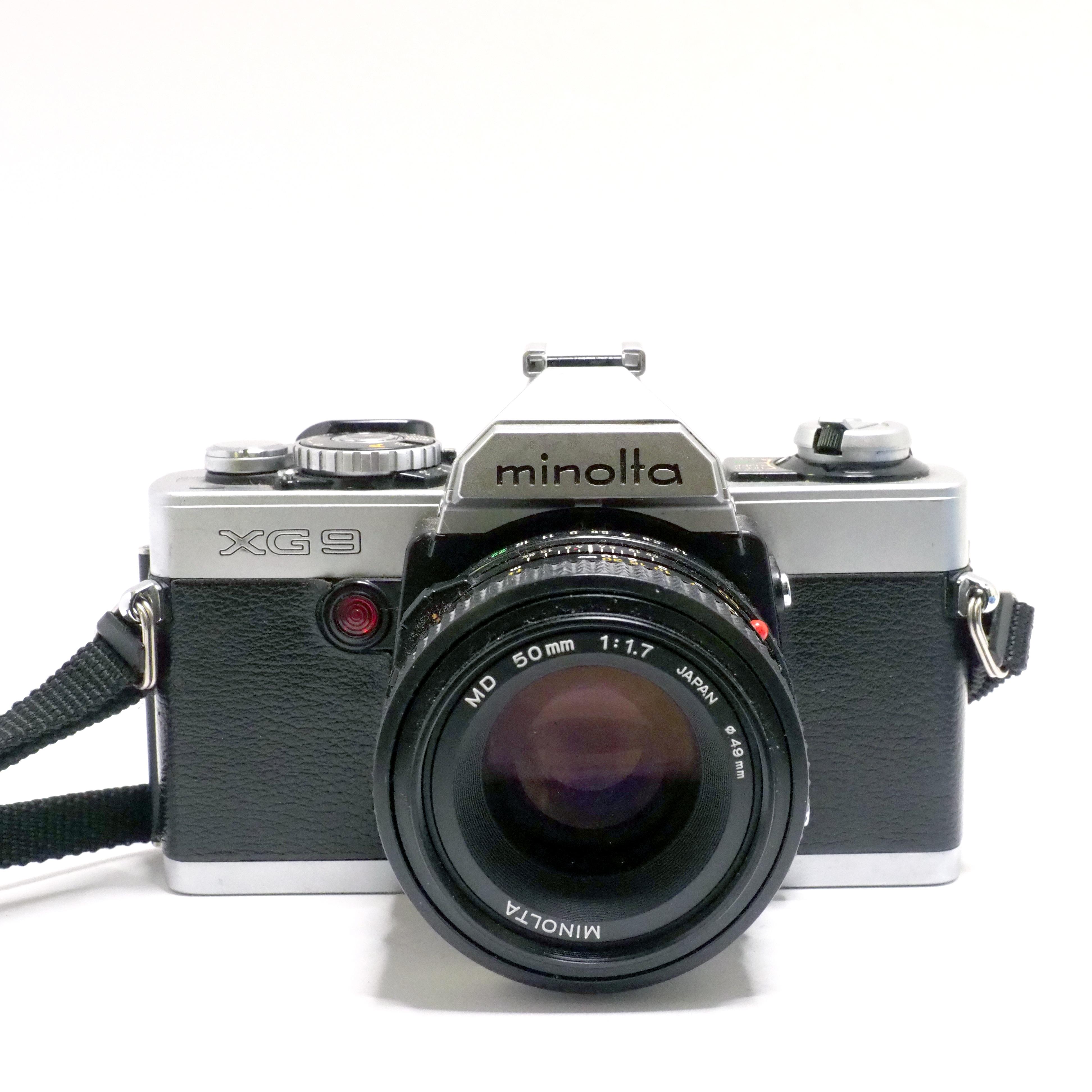 Minolta xg9 + 50mm MD f/1,7 - BEGAGNAT