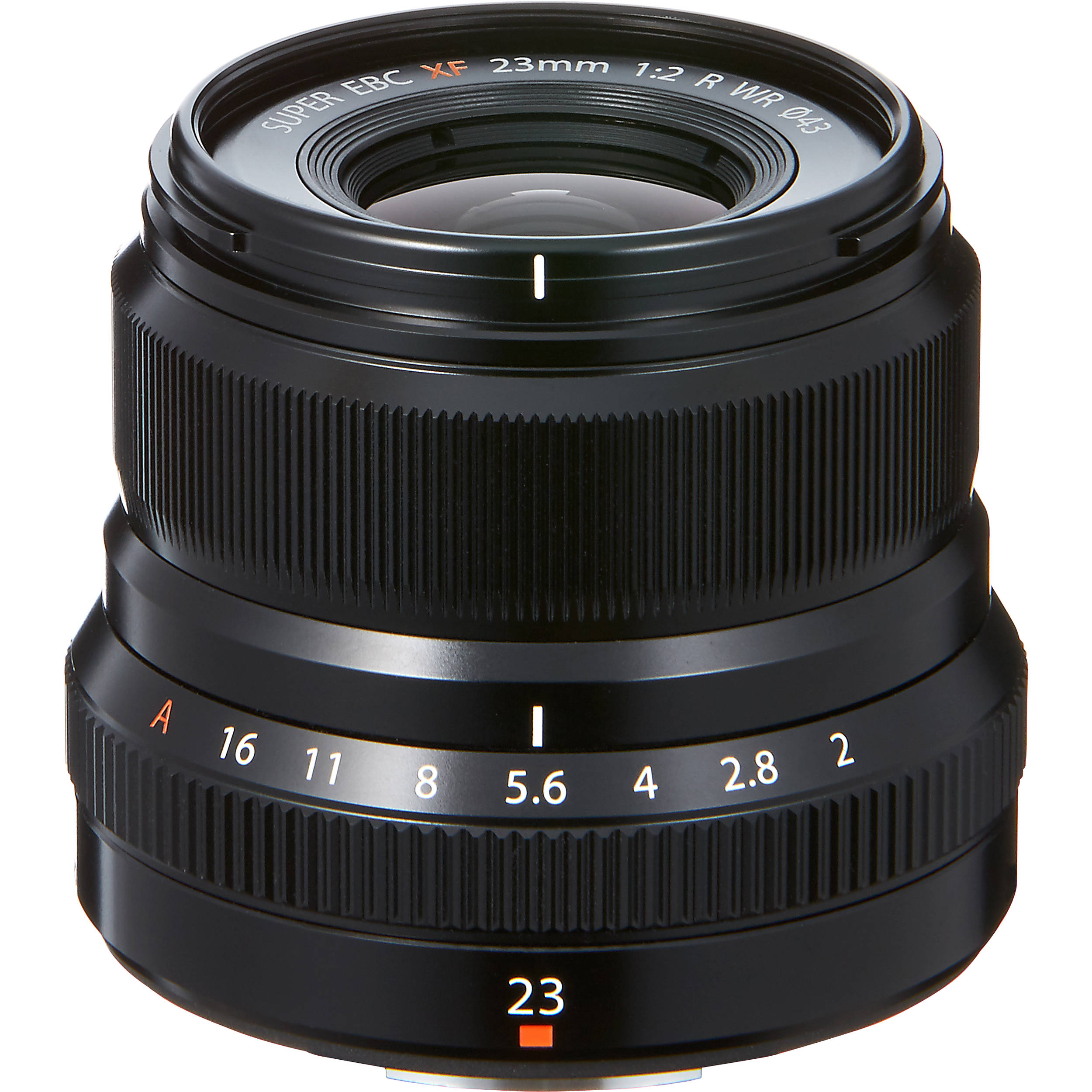 Fujifilm Fujinon XF 23mm f/2,0 WR Svart