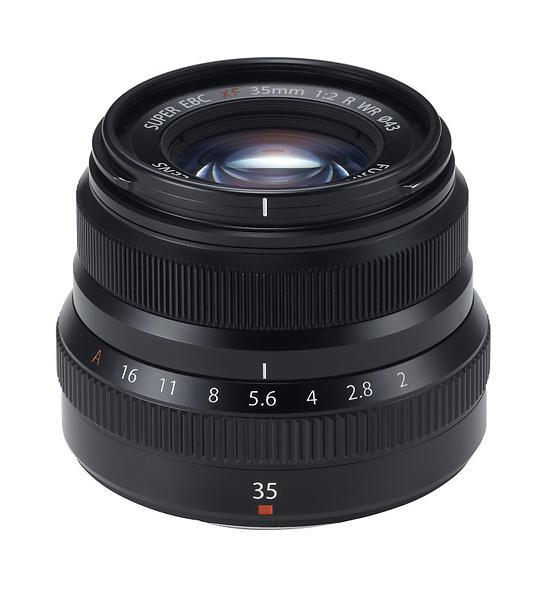 Fujifilm Fujinon XF 35mm f/2,0 R WR Svart