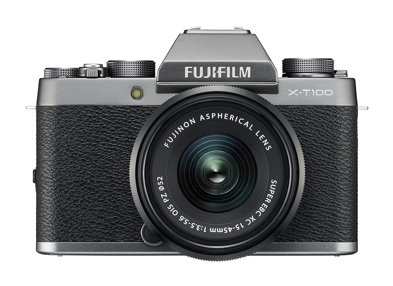 Fujifilm X-T100 + 15-45mm f/3.5-5.6 OIS PZ Dark Silver