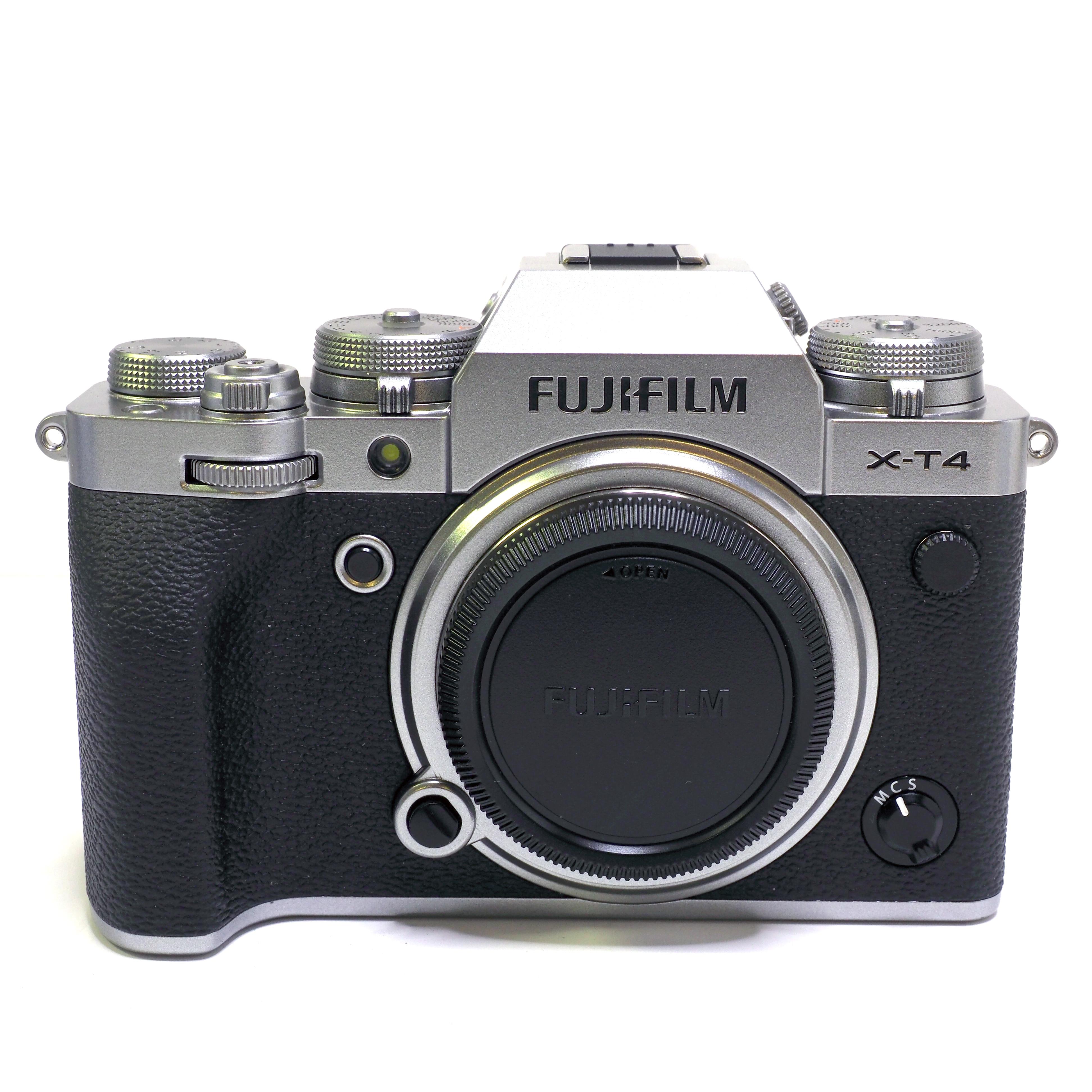 Fujifilm X-T4 Kamerahus Silver - BEGAGNAT